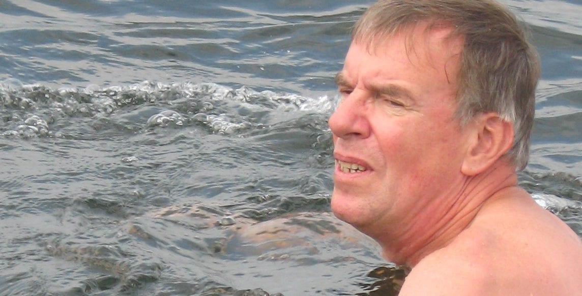 Zwemmen met motortje