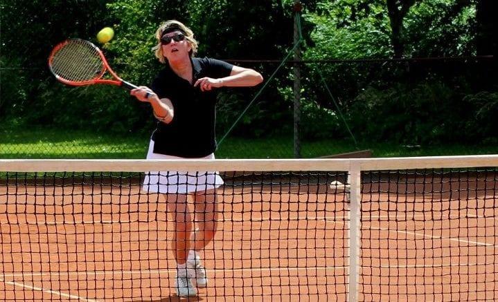 Ik leef, want ik tennis