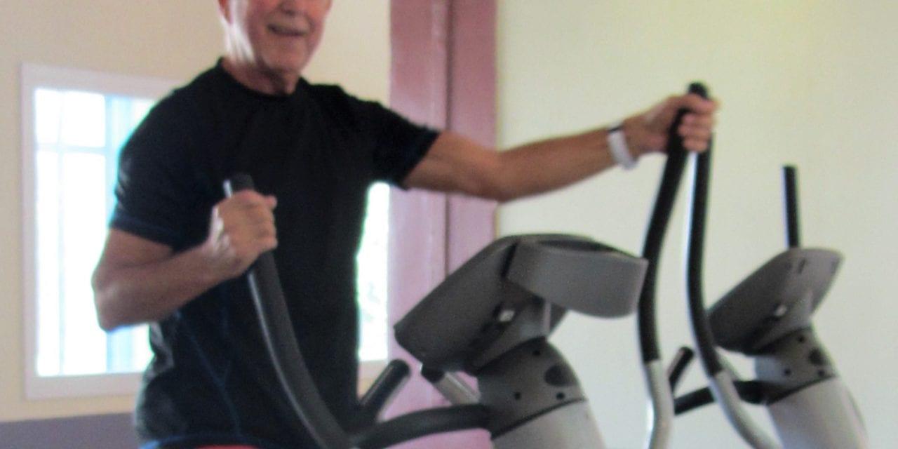 In Beweging:  Gerrit Vooren fanatieke fitnesser