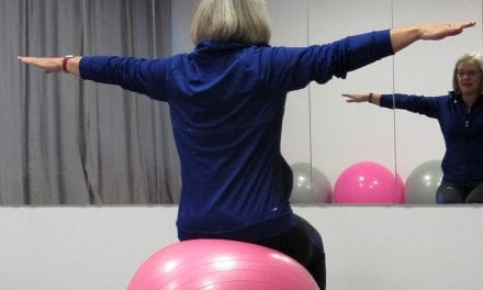 In Beweging:  Bernadette door Pilates meer bewust van lichaam