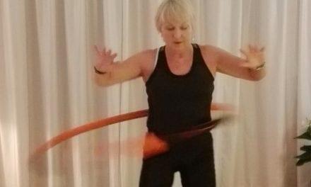 In Beweging: Bodyhoop is zwaarder dan hoelahoep