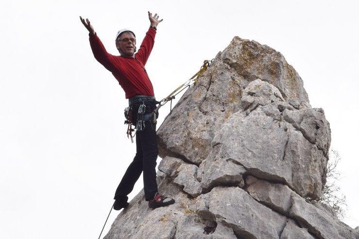 In Beweging:  Mart Schouten verlegde grenzen in de bergsport