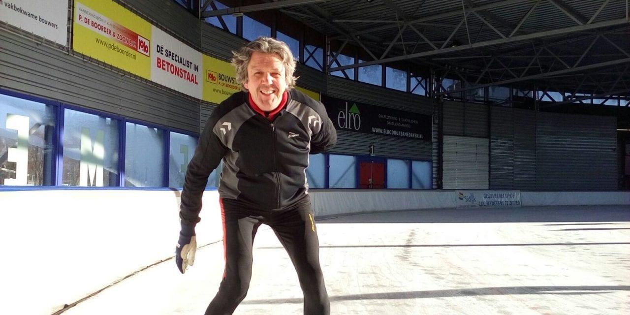 In Beweging: Schaatsen doet Kees Spaargaren om buiten te zijn