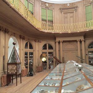 Het Teylers museum uit de tijd van de Verlichting