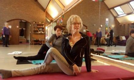 Yoga geeft José rust in haar hoofd