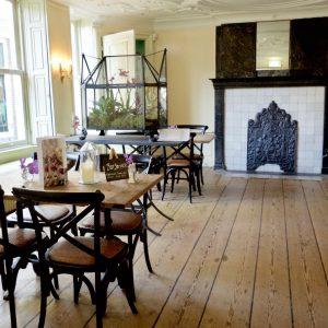 Het Cromhouthuis heeft een fijn café.