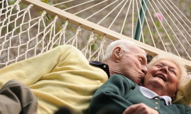 Liefde tussen de rimpels; seksleven stijgt met pensioenleeftijd