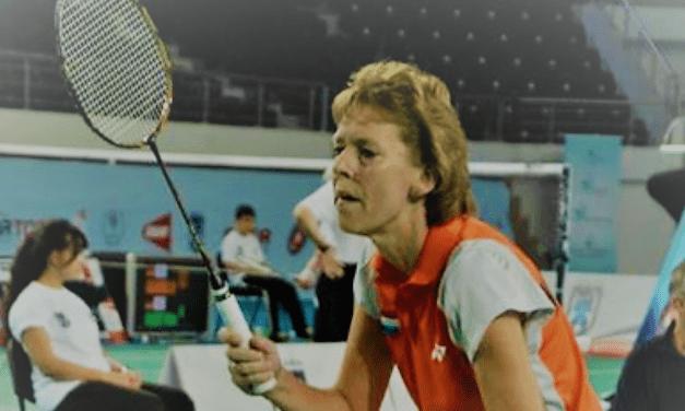 In Beweging: Badminton is Jeannette's tweede natuur