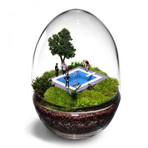 Arti-terrariumpotten met een knipoog (http://www.terrariumart.it)