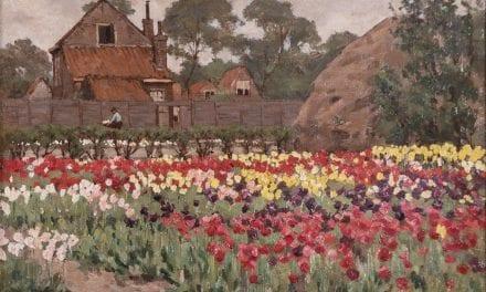 10.000ste bezoeker ontdekt 'Rembrandt' van de Bollenstreek