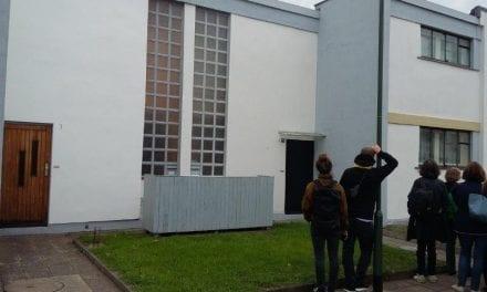 Bezoek aan Bauhaus in Dessau: Zó gewoon is wonen niet!