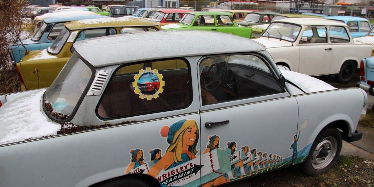 Trabant: al 60 jaar maatje op de weg