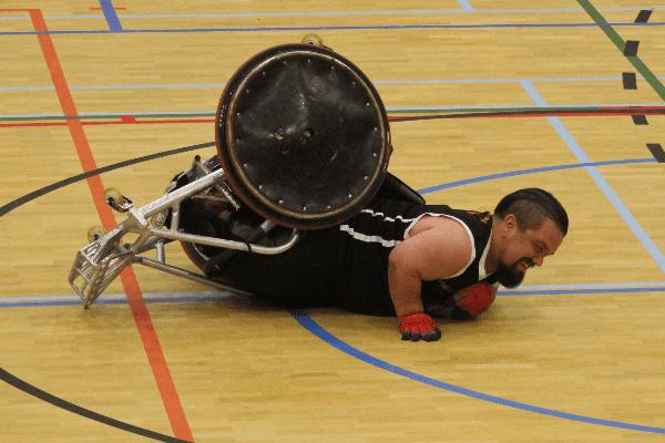 Crowdfunding: een rugby-rolstoel voor Jasper