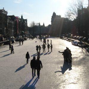 schaatskoorts