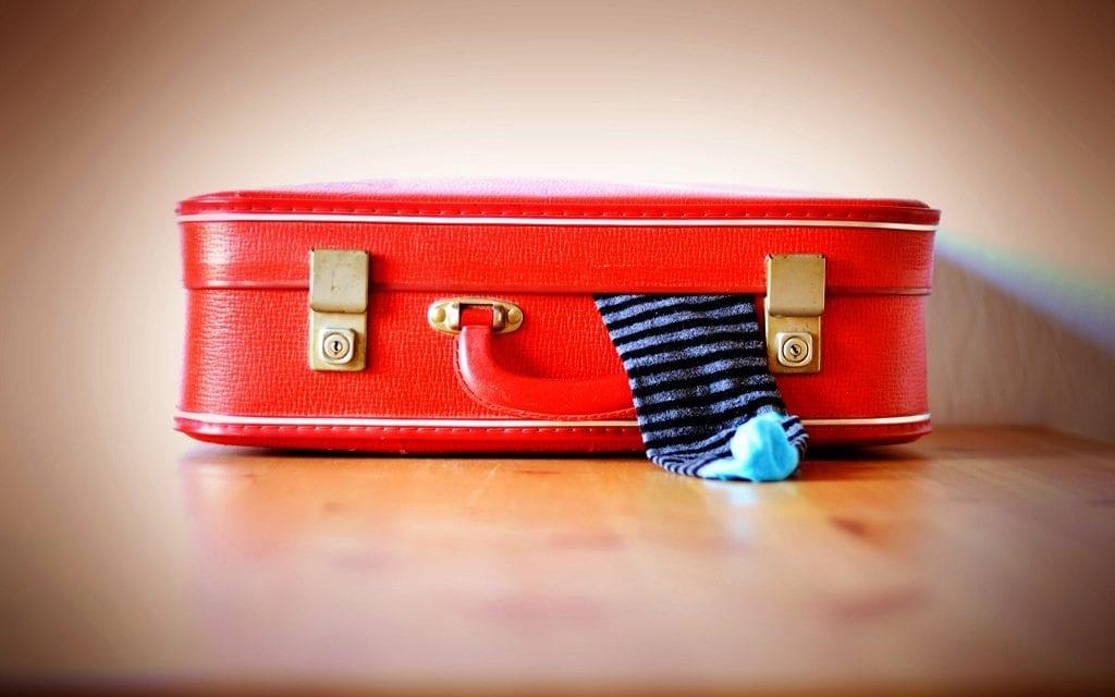 Vakantiespoken tijdens het koffers pakken