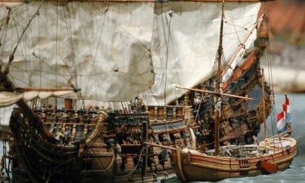 Kaap Skil ankerplaats op wereldreis naar Texel