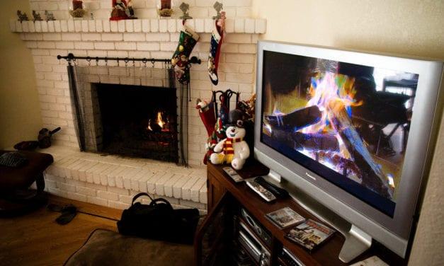 Maar gelukkig is er ook kerst-televisie!