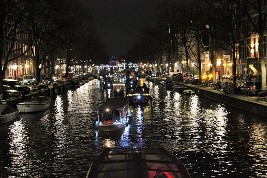 File varen op de Herengracht
