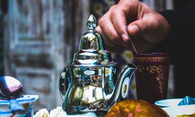 Nieuwe trend: thee bij diner