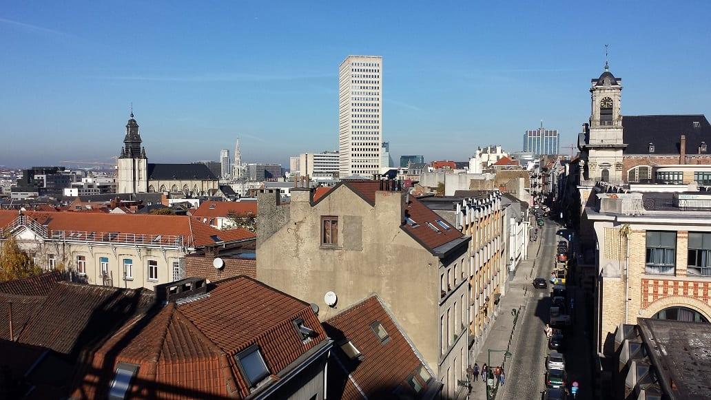 Zo maar een kijkje in een Brusselse straat