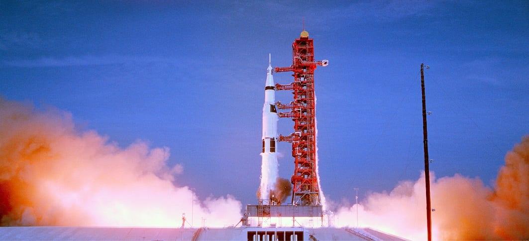 Apollo 11, unieke beelden van reis naar maan