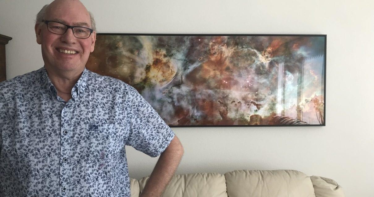 Maanlanding rode draad in leven Hans van der Lande
