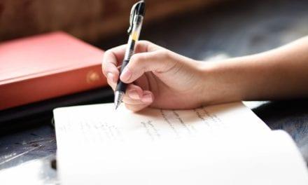 Wie schrijft -met een pen- die blijft