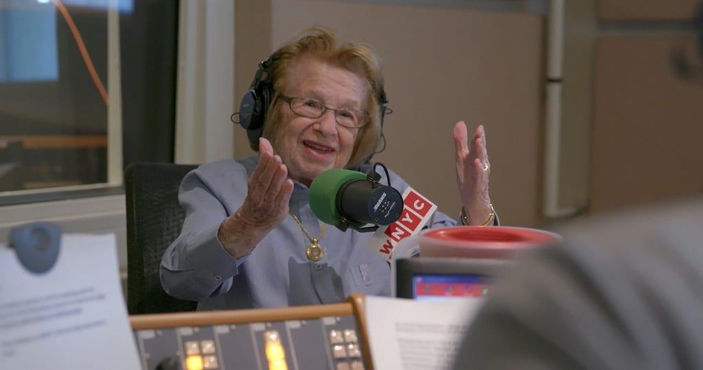 Dr. Ruth haalt onbegrip uit de slaapkamer