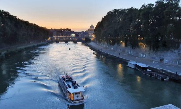 Rome, zo mooi…daar word je 'silenzioso' van!