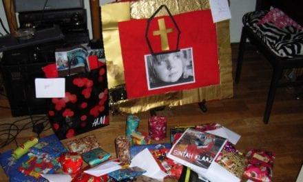 Surprise maken, een dag per jaar knutselen voor de Sint
