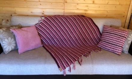Genoeg tijd om een mooie deken te haken