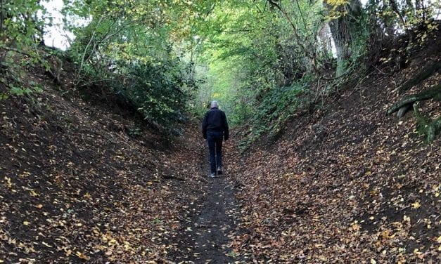 Zie wandelen in Limburg als 'noodzakelijk' reizen