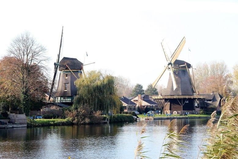 Rondje Naarden fietsen onder rook van Amsterdam