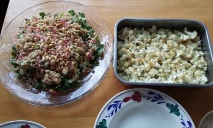 Sjiek kliekje: Couscous met paksoi en granaatappel