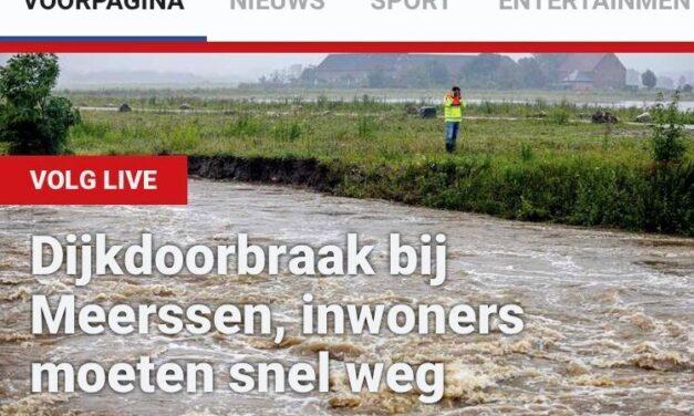 Overstroming verjaagt mensen uit meer dan huis