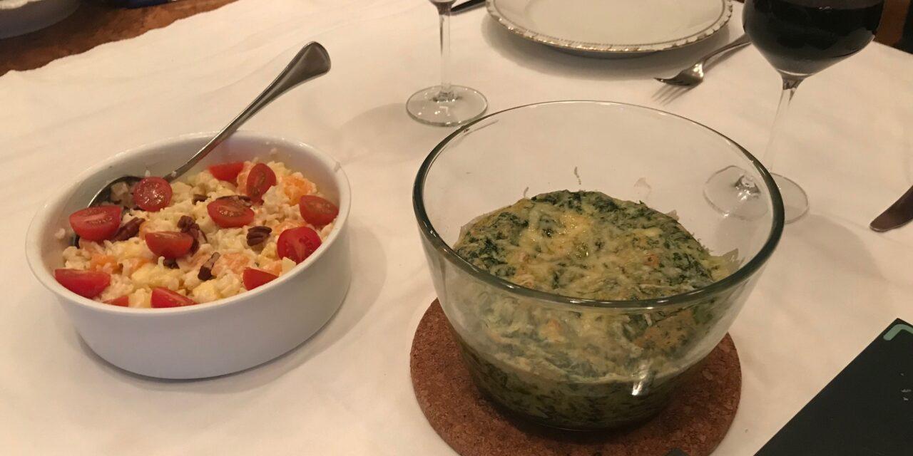 Ei maakt spinaziesoufflé tot meesterproef